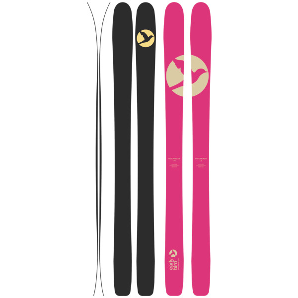 NUTCRACKER pink - PINK LIMITED EDITION SKIS