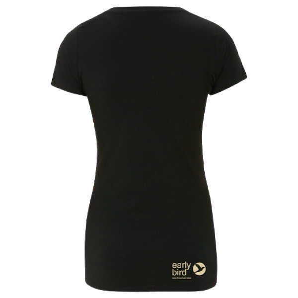 black back w - EARLYBIRD SHIRT WOMEN