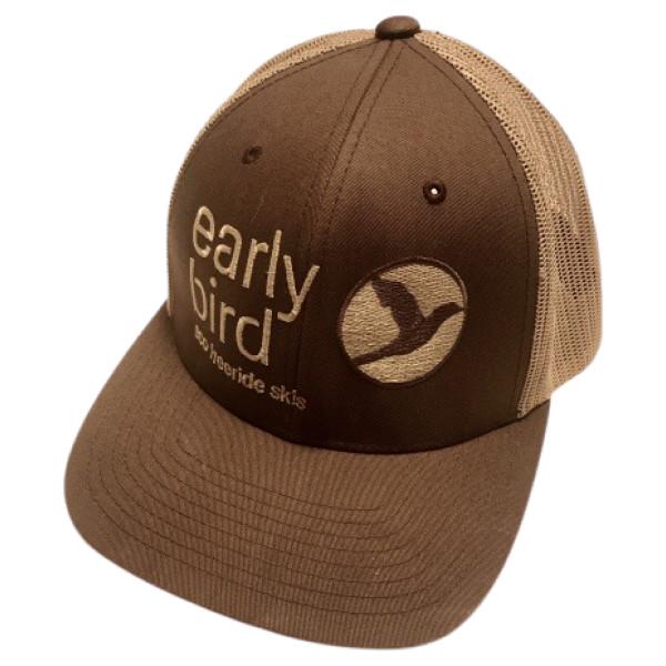 cap brownkhaki - EARLYBIRD CAP