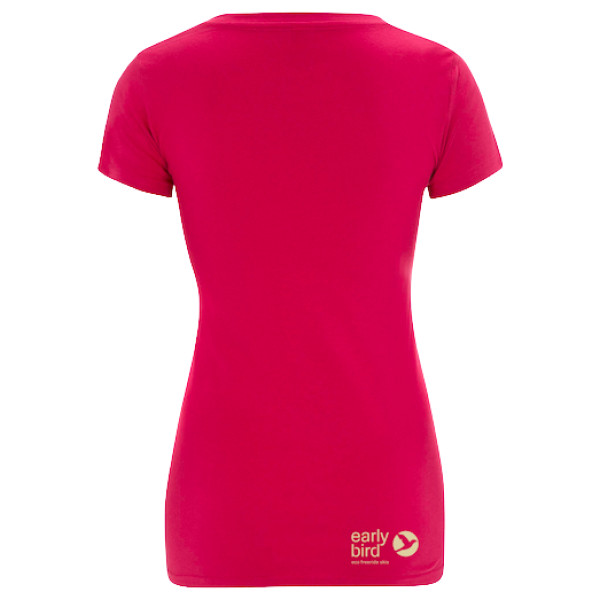 pink back - EARLYBIRD SHIRT PINK WOMEN